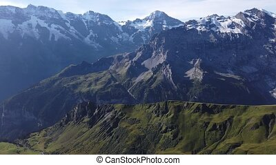 schilthorn, suisse, birg