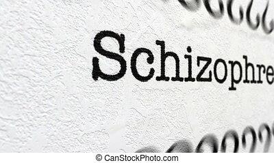 schizophrénie, maladie