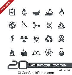 //, science, élémentsessentiels, icônes