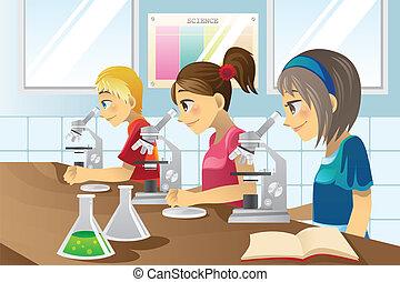 science, gosses, laboratoire