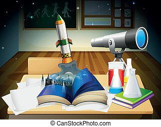 science, laboratoire