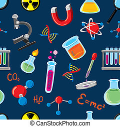 science, remplir, fond