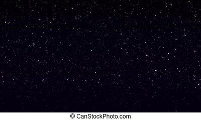 scintillement, étoiles, boucle