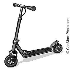 scooter, électrique