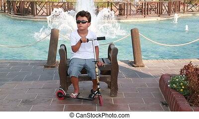 scooter, enfant