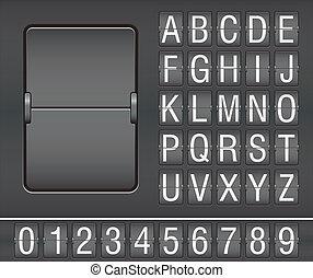 scoreboard, mécanique
