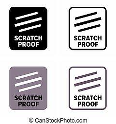 """""""scratch, durabilité, résistant, produit, proof"""""""