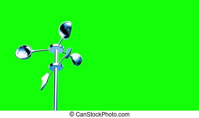 screen), anémomètre, vert, (loop