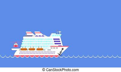 sea., voilier, croisière