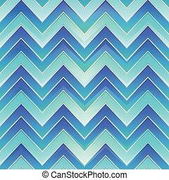 seamless, vagues bleu, modèle