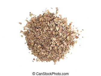 sec, feuilles thé