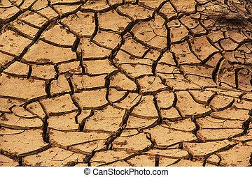 sec, la terre, toqué