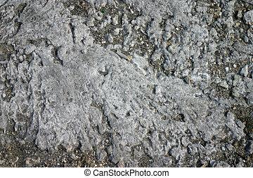 sec, toqué, earth., texture