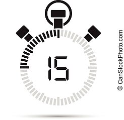 seconde, 15, minuteur