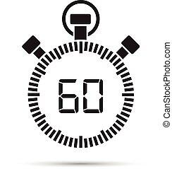 seconde, 60, minuteur