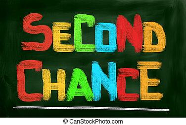 seconde, concept, chance