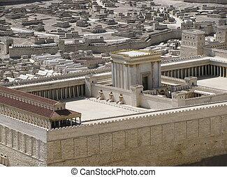 seconde, temple, jérusalem