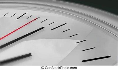 secondes, coutil, hd, horloge