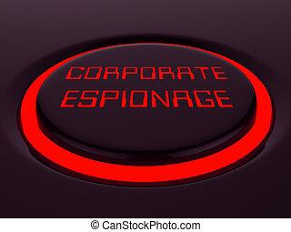 secret, cyber, rendre, hacher, espionnage corporation, 3d