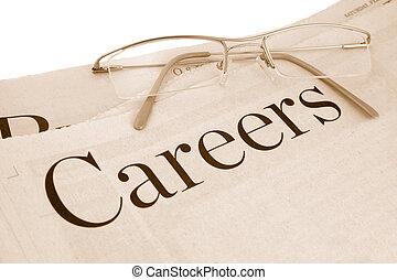 section, carrières
