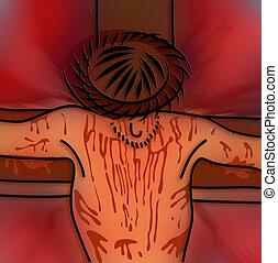 seigneur, jésus christ, croix