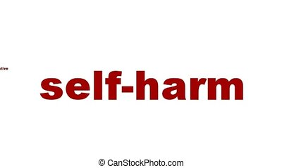 self-harm, symbole, santé, mental