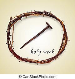 semaine, saint
