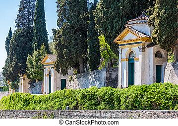sept, sanctuaire, églises, monselice