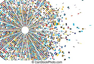 sequencing, essai, vecteur, séquence, infographic., génome, chromosome, génétique, diagramme, carte, adn, illustration, résumé, données, architecture
