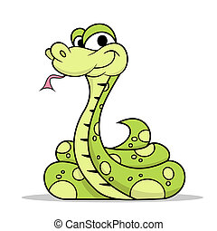 serpent vert, poison