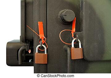 serrures, sécurité, cachets