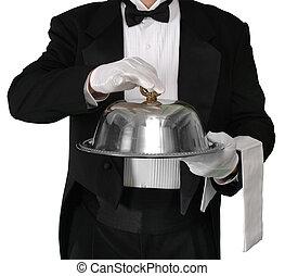 servi, dîner
