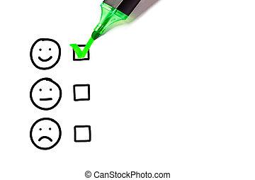 service clientèle, formulaire, vide, excellent, évaluation