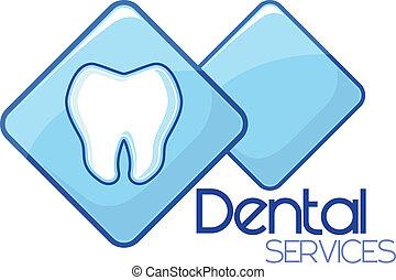 services, dentaire, conception
