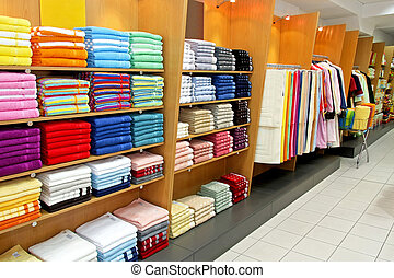 serviette, magasin