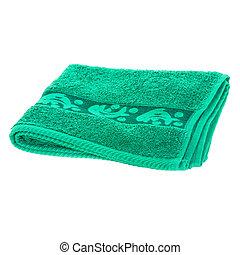 serviette, vert