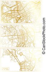set., douvres, usa, vermont, ville, alabama, burlington, carte, delaware, birmingham