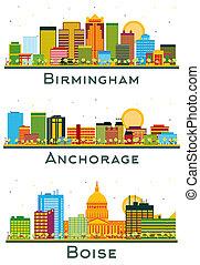 set., horizon, anchorage, alaska, alabama, birmingham, ville, boise, idaho