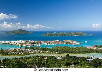 seychelles, éden, île
