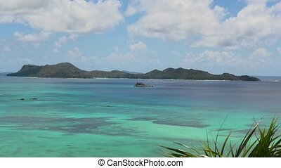 seychelles, cote, or, baie