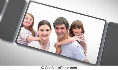 sha, enfants, parents, montage