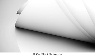 sheets., papier, vide