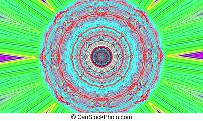 shimmering, lumière, transformations, arrière-plan., multi-coloré, kaléidoscope