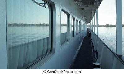 ship., pont, croisière