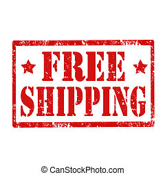 shipping-stamp, gratuite