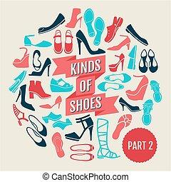 shoes., partie, 2, genres