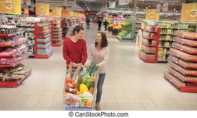 shoppers, premier plan