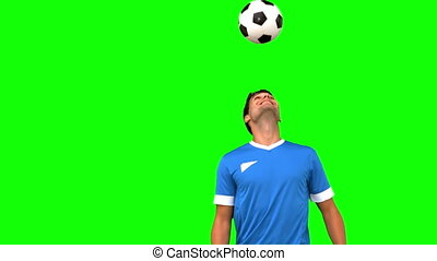 sien, jonglerie, football, il, homme