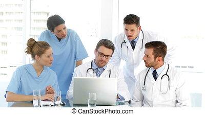 sien, personnel, docteur, duri, parler