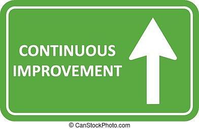 signal, continu, amélioration